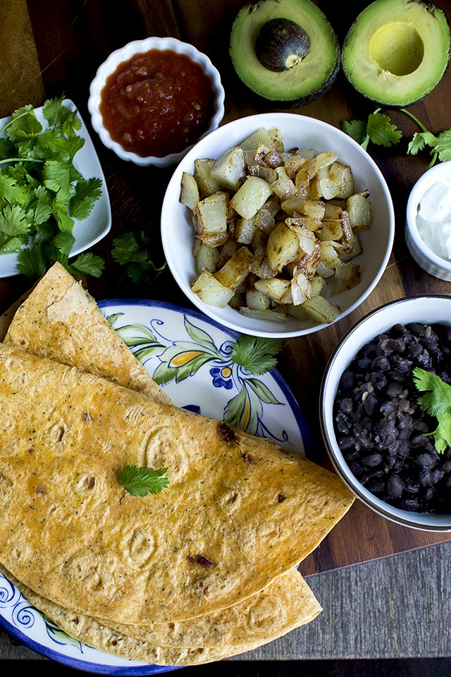 Kid friendly Rice and bean Burritos