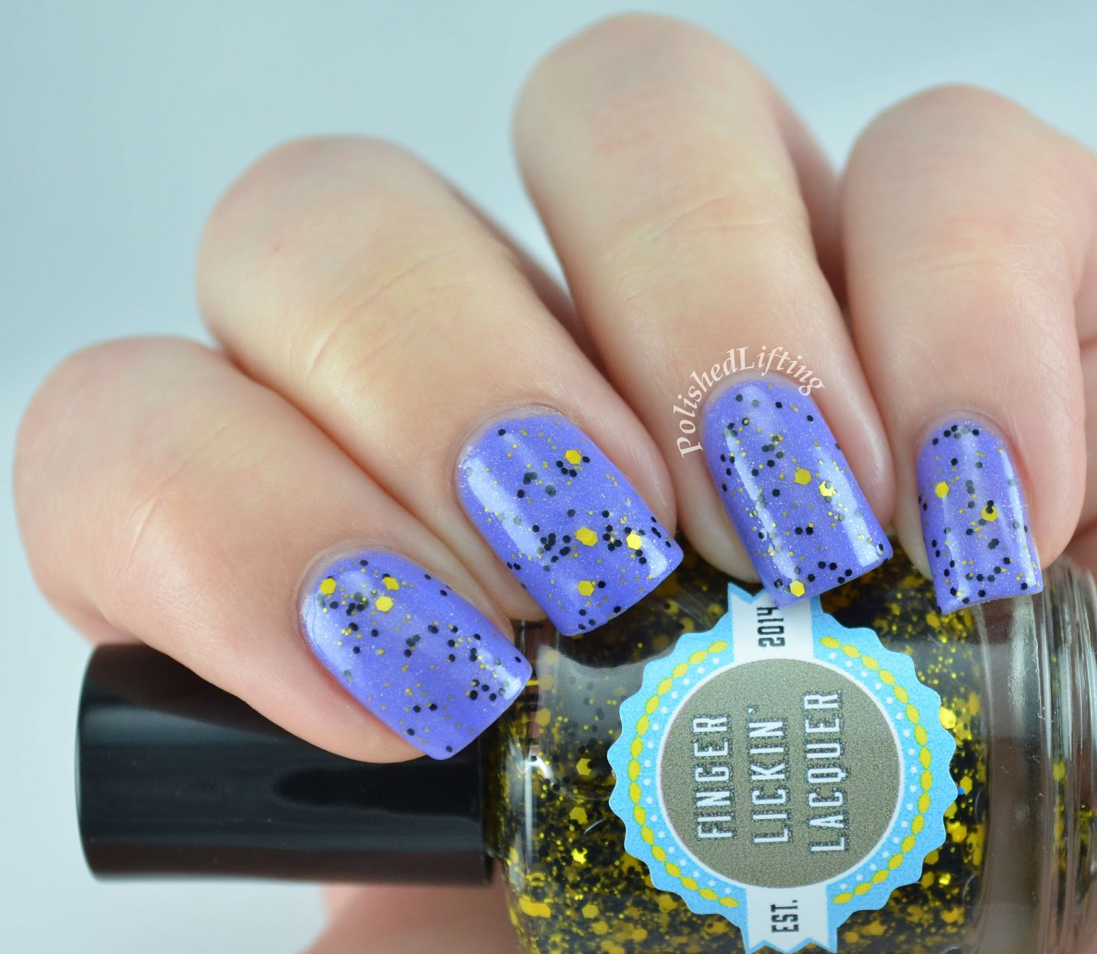 Finger Licking Lacquer She Works Hard For the Honey Lilac Festival Spring In Your Step
