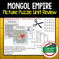 Mongol Empire, World History Test Prep, World History Test Review, World History Study Guide, World History Games, Ancient World History Bundle, Ancient World History Curriculum