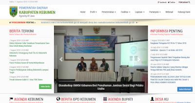 website Kebumenkab.go.id