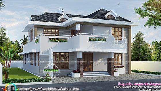 Classical style elegant villa home
