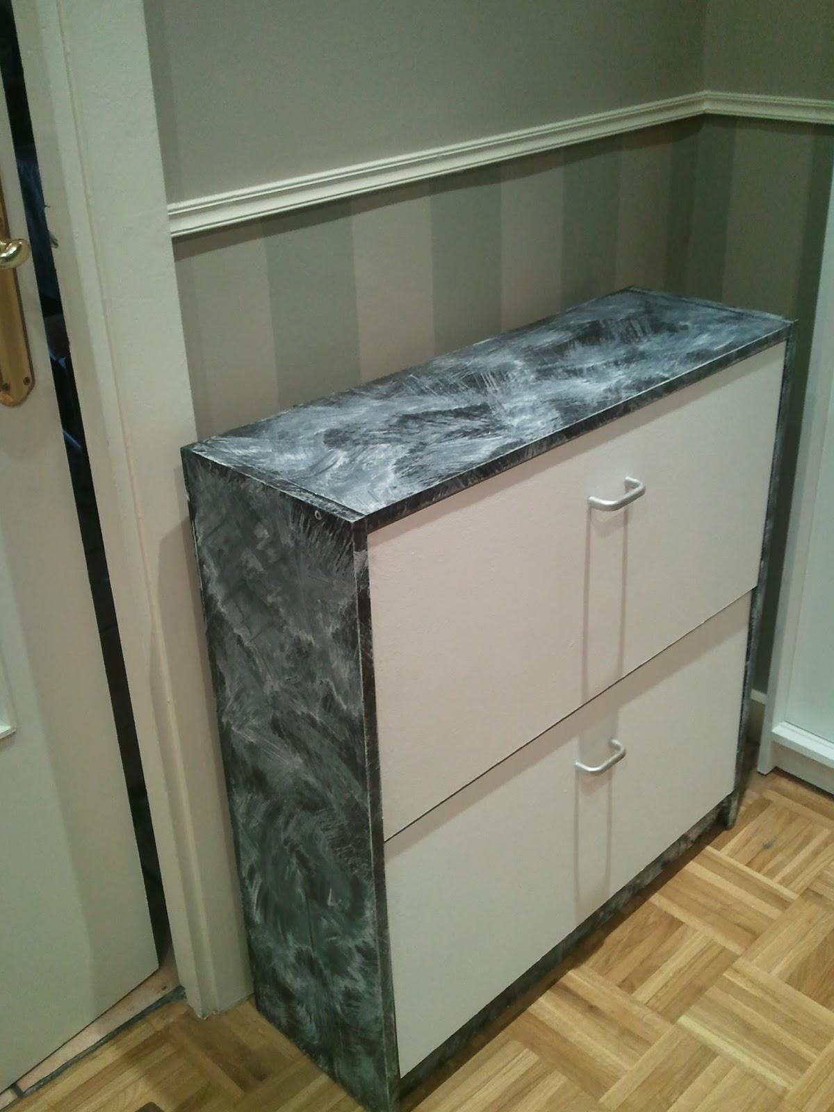 Pintar muebles de cocina melamina ideas - Hacer mueble zapatero ...