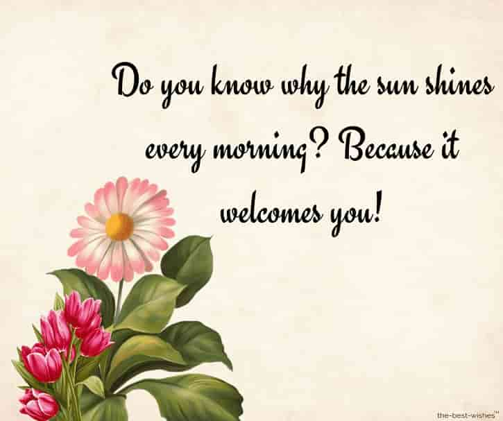 good morning text messages for a girl you like with greeting card