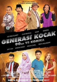 Download Generasi Kocak: 90-an vs Komika (2017)