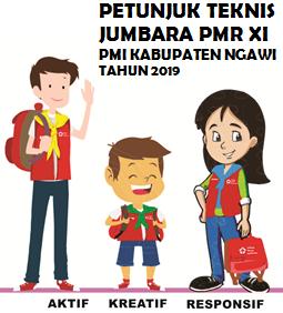 Petunjuk Teknis Jumbara PMR XI PMI Kabupaten Ngawi Tahun 2019