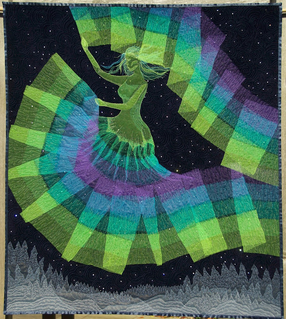 aurora borealis quilt