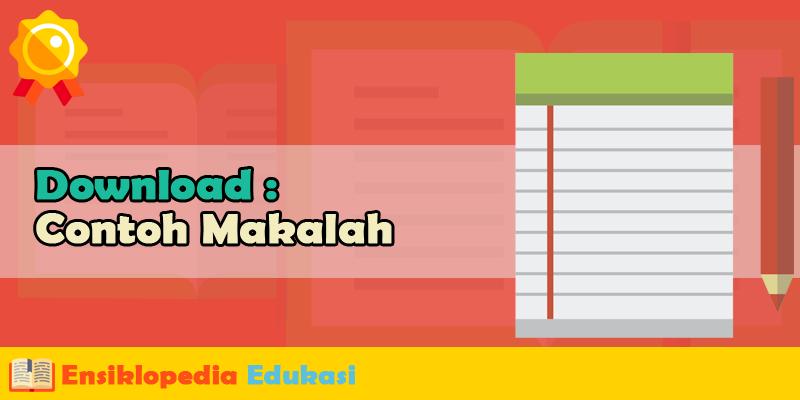 Contoh Makalah Agama Sumber Ajaran Islam Download Format Microsoft Word (doc/docx)