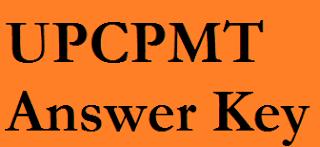 UPCPMT Answer Key