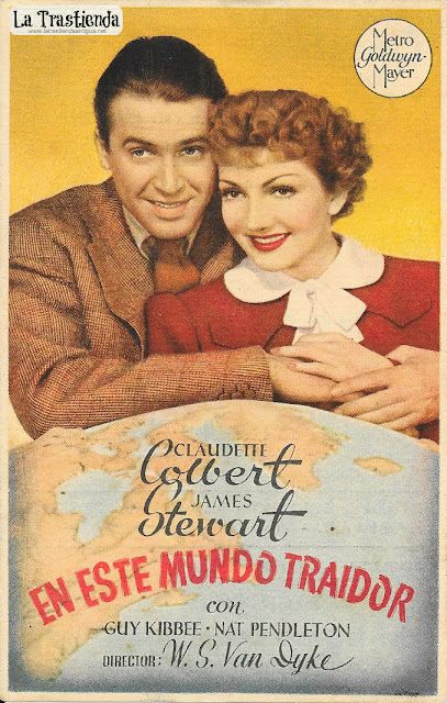 En este Mundo Traidor - Programa de Cine - Claudette Colbert - James Stewart