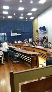 Frente Parlamentar Chico Sardelli e Carlinhos Silva , aprova neste momento na CCJ Alesp - Projeto de interesse das GCMs - Aposentadoria Especial