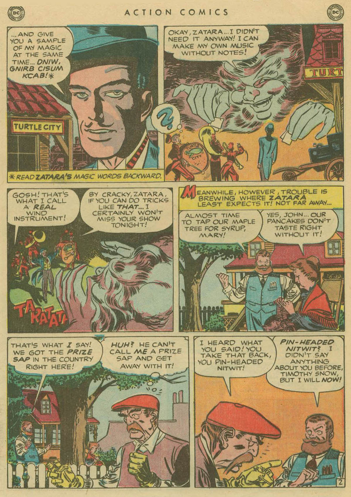 Read online Action Comics (1938) comic -  Issue #141 - 33