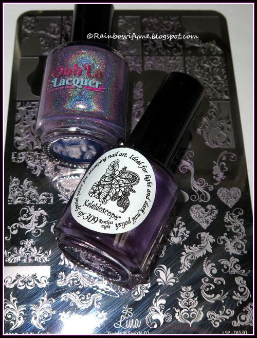 Ooh la Lacquer ~ Mystery Holo, lavender