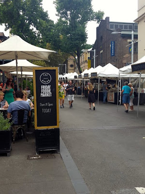 Friday Foodie Market at Circular Quay Sydney