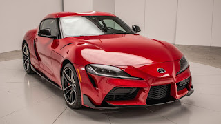 2020 Toyota Supra sports car front