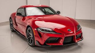 2020 Toyota Supra sports car front