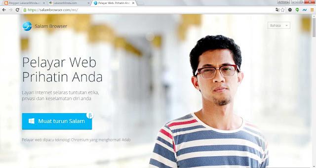 Pelayar Web Mesra Syariah: Salam Browser
