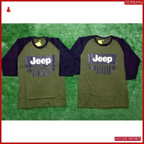 AKC206K40 Kaos Couple Pasangan Anak 206K40 Baju Jeep BMGShop