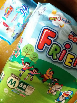 Goo.N Friend Pants Super Jumbo Doraemon Edition