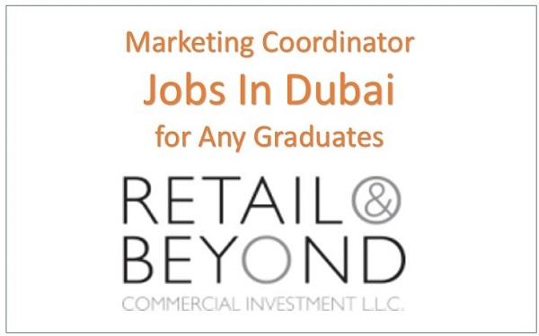 marketing coordinator salary dubai, marketing coordinator responsibilities