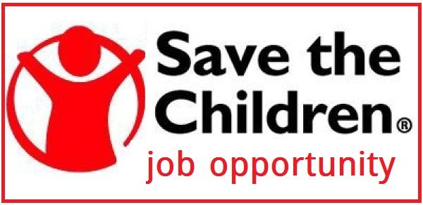 Job opportunity in save the children - job market 2020