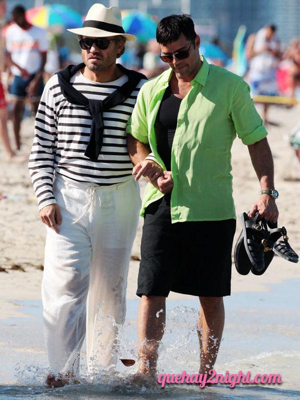 gay pareja ricky martin edgar ramirez