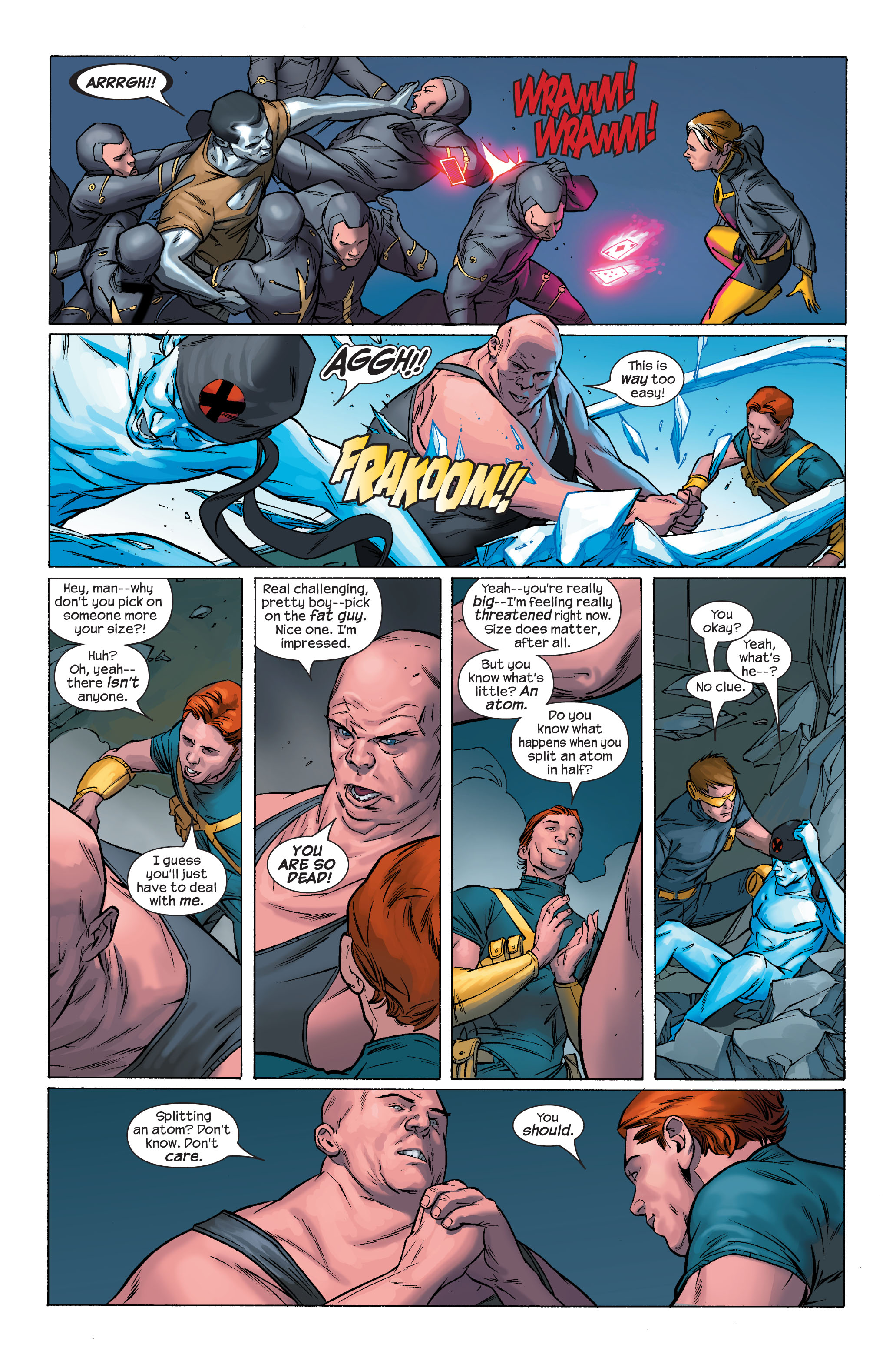 Read online Ultimate X-Men comic -  Issue #70 - 19
