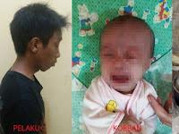Tega! Ayah ini Lempar Bayi ke Tungku Api Hanya Karena Istri Telat Siapkan Makan