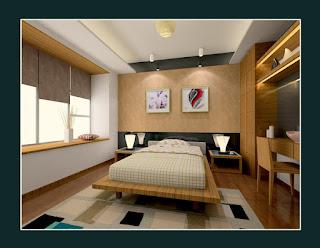 Contoh kamar tidur utama -2