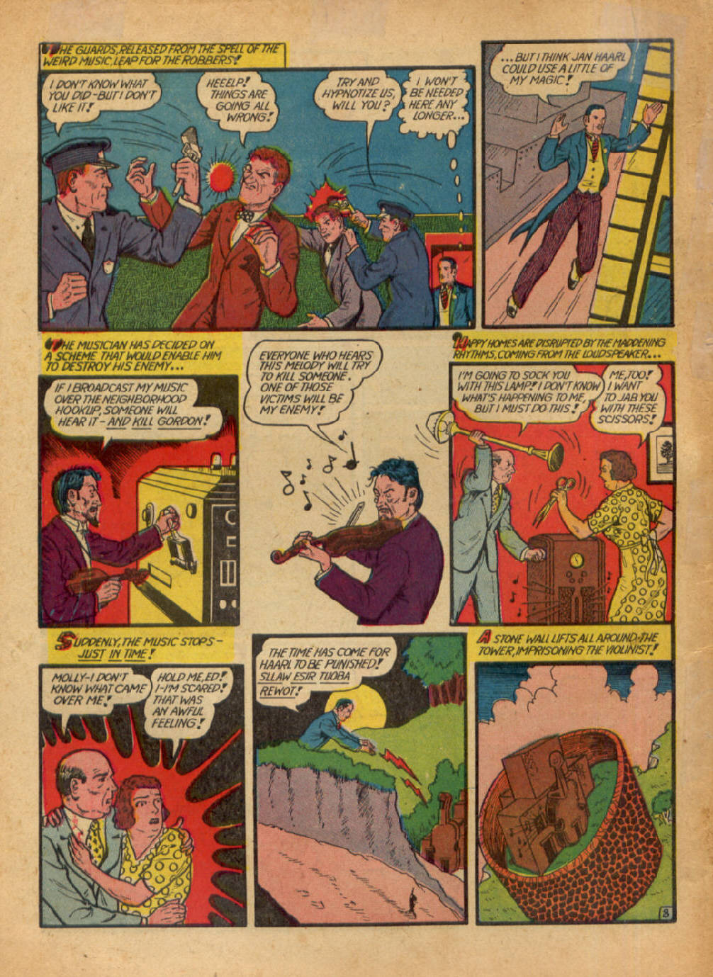 Read online Action Comics (1938) comic -  Issue #48 - 64