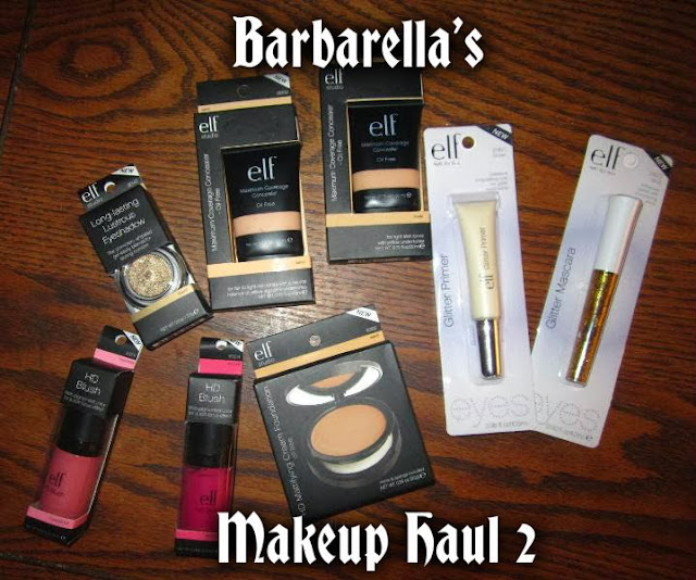 Video: Barbarella's Makeup Haul 2