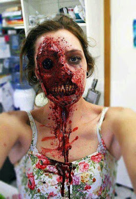 creative unique scary halloween costume ideas for girls