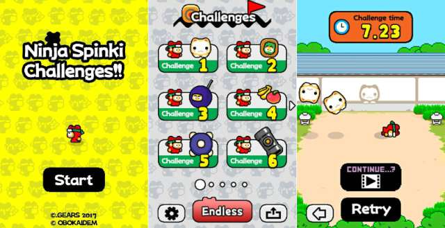Flappy Bird Creator Releases New Game Ninja Spinki Challenges