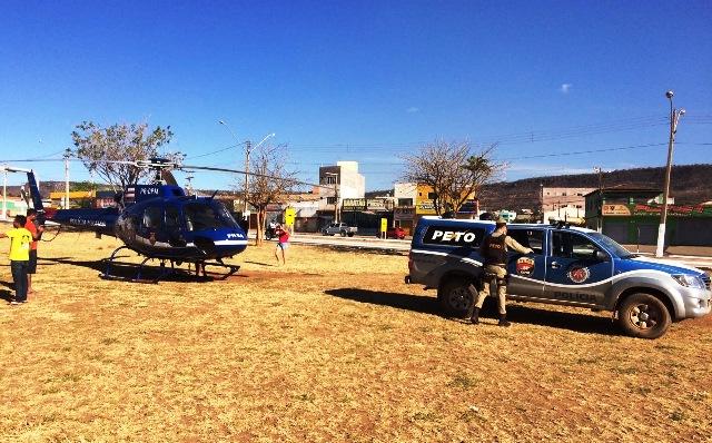 Polícia Militar realiza ações de prevenções ao tráfico de drogas em Barreiras