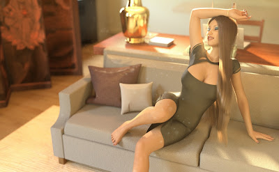 i13 Stylish Apartment Poses for Genesis 3 Female