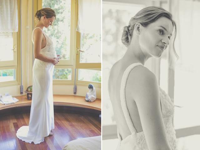 vestidos de novia para embarazadas pronovias