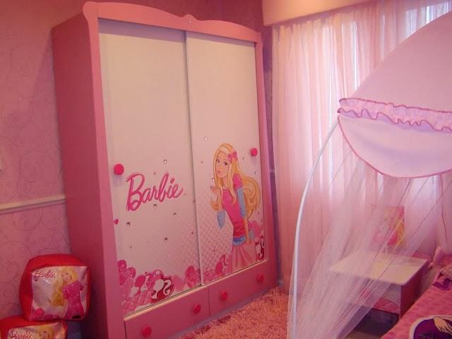 Blooms Of Dahlia Barbie Bedroom Decor