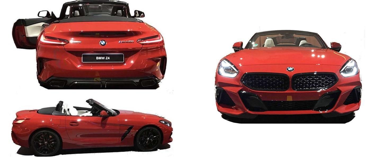 Tasarımıyla Göz Banyosu Yaptıran BMW Z4 2019'un Resmi Fotoğrafları Sızdırıldı