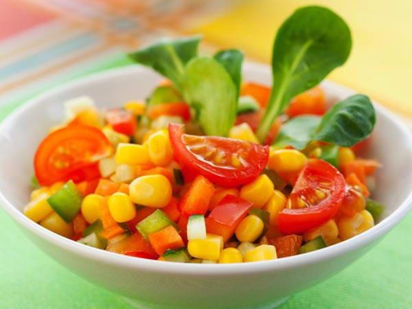Cách làm Salad ngô giảm cân