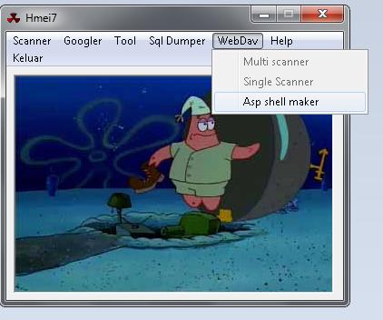 Deface dengan WebDAV Shell Maker