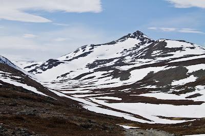 Północny Punkt Widzenia: Moja własna Śnieżka. Widok na Haldde.