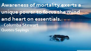 quotes on mortality