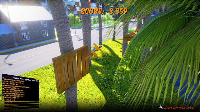 Whiplash Crash Valley Gameplay Screenshot 2
