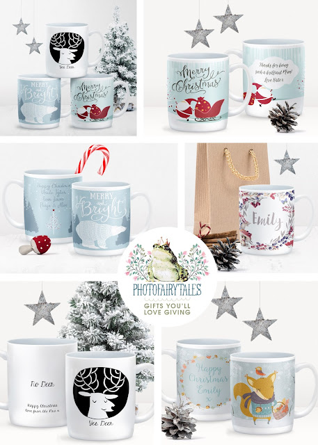 Personalised Christmas Mugs