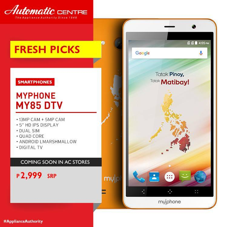 Affordable Myphone Smartphones Digital Television – Daily