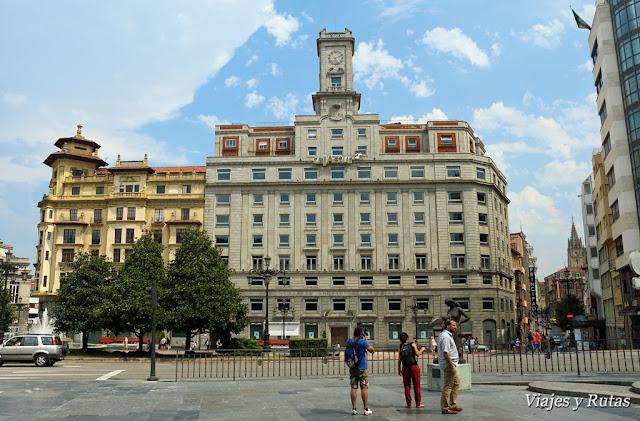 Plaza de la Escandalera de Oviedo