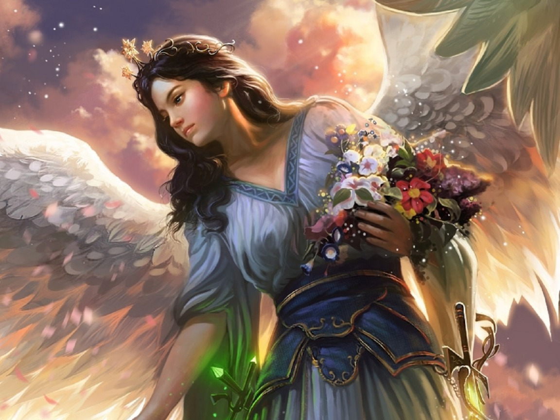 Beautiful Fairy Angel Wallpaper - Beautiful Desktop HD Wallpapers Download