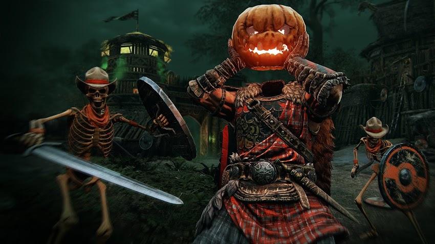 For Honor: torna l'evento di Halloween con scheletri e Smashing Pumpkin Heads
