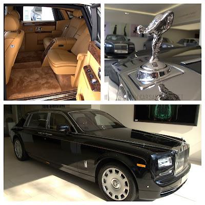 Rolls Royce Phantom Extended Wheelbase at London