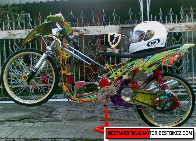 Foto Motor Drag Beat Lama Motorwallpapers Org