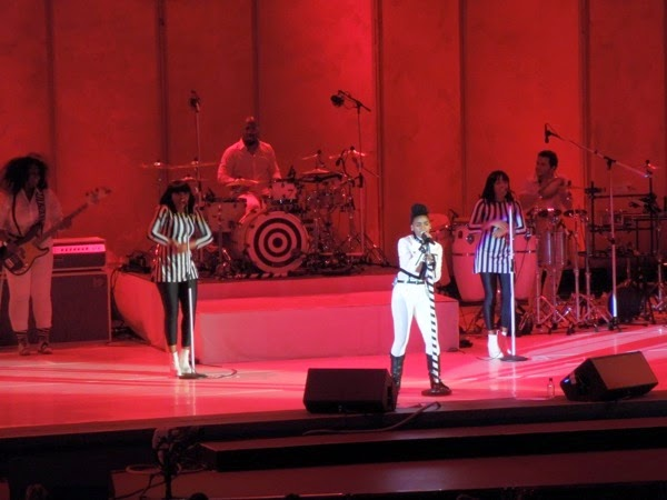 Janelle Monáe Hollywood Bowl 2014